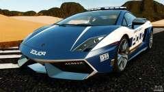 Lamborghini Gallardo LP570-4 Superleggera Police