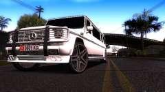 A Mercedes-Benz G500 de Limusina белый para GTA San Andreas