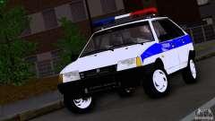 Polícia Vaz 2109