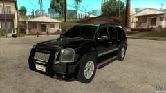 GMC Yukon Unmarked FBI para GTA San Andreas