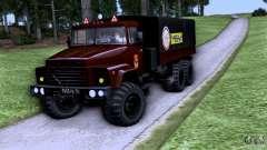 Escola de condução do caminhão