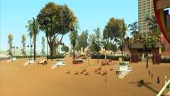 Modern beach in Los-Santos