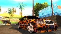 Mercedes-Benz E500 Leopard para GTA San Andreas