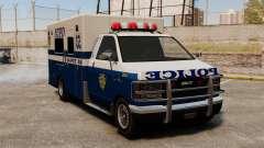 Nova van polícia