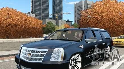 Cadillac Escalade ESV 2012 DUB para GTA 4