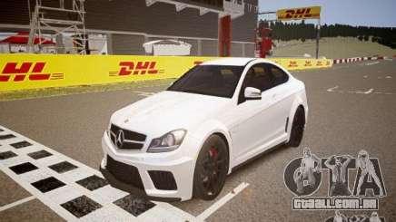 Mercedes-Benz C63 AMG Stock Wheel v1.1 para GTA 4