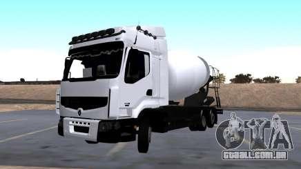 Renault Premium Mixer para GTA San Andreas