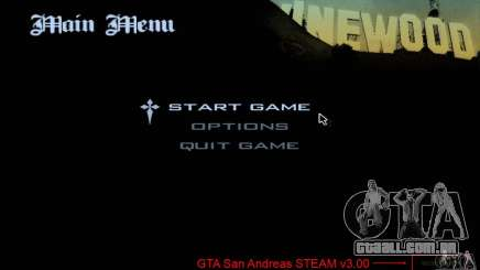Patch para GTA San Andreas Steam V 3.00 para GTA San Andreas