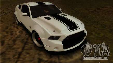 Ford Shelby GT500 SuperSnake NFS The Run Edition para GTA San Andreas