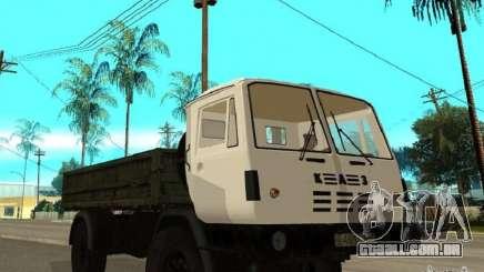 Caminhão de descarga de KAZ 4540 para GTA San Andreas