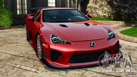 Lexus LFA 2012 Nurburgring Edition para GTA 4