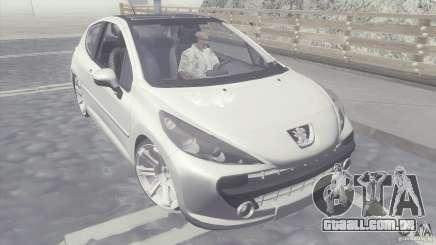 Peugeot 207 RC para GTA San Andreas