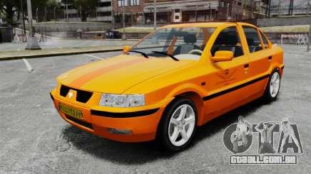 Iran Khodro Samand LX Taxi para GTA 4
