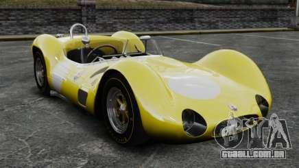 Maserati Tipo 60 Gaiola жёлтый para GTA 4