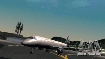 Embraer ERJ 190 USAirways para GTA San Andreas