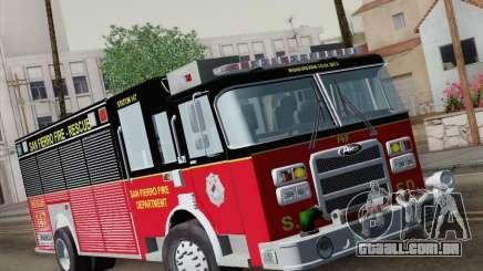 Pierce SFFD Rescue para GTA San Andreas