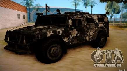 GÁS 2725 de BO2 para GTA San Andreas