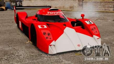 Toyota GT-One TS020 outros para GTA 4