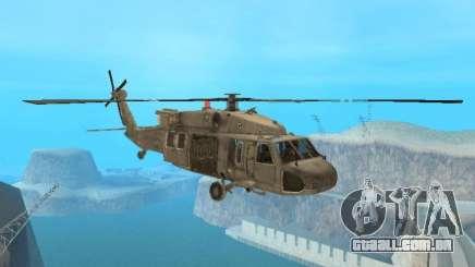 O UH-60 do COD MW3 para GTA San Andreas