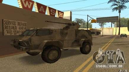 GÁS-3937 Vodnik para GTA San Andreas