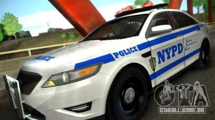 Ford Taurus NYPD 2011 para GTA San Andreas