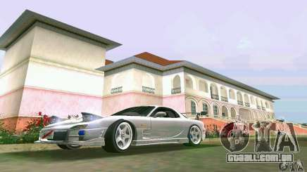 Mazda RX7 tuning para GTA Vice City