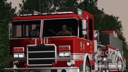 Pierce Arrow XT LAFD Tiller Ladder Truck 10 para GTA San Andreas