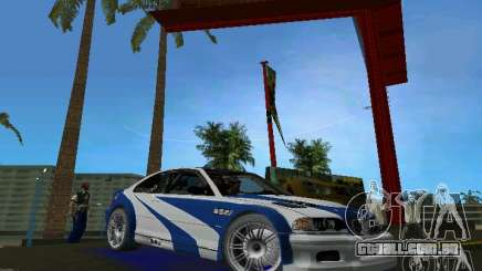 BMW M3 GTR NFSMW para GTA Vice City
