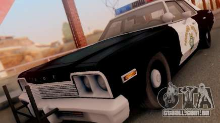 Dodge Monaco 1974 California Highway Patrol para GTA San Andreas