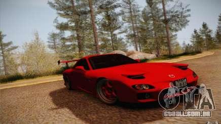Mazda RX7 Hellalush V.2 para GTA San Andreas