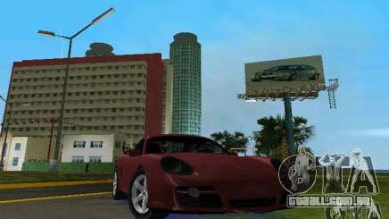 Porsche Cayman para GTA Vice City