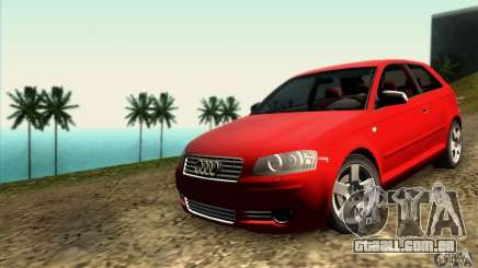 Audi A3 Tunable para GTA San Andreas