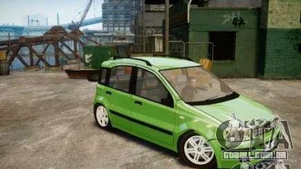 Fiat Panda 2004 v2.0 para GTA 4