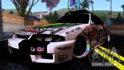 Nissan GT-R R33 HellaFlush para GTA San Andreas