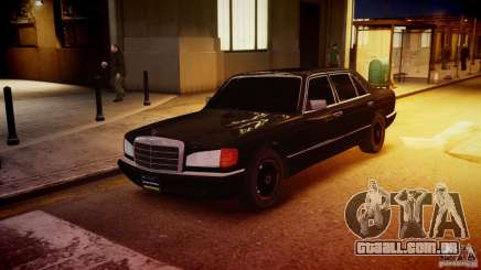 Mercedes-Benz 560 SEL Black Edition para GTA 4