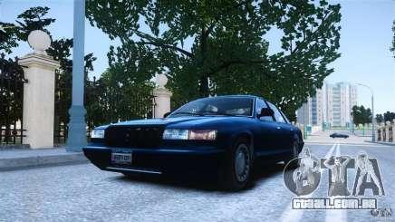 Civilian Taxi - Police - Noose Cruiser para GTA 4