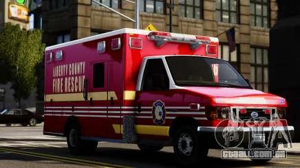 Ford Econoline E350 Ambulance para GTA 4