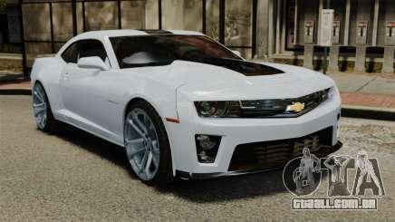 Chevrolet Camaro ZL1 para GTA 4
