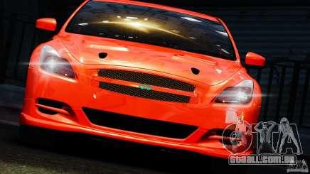 Infiniti G37 2008 Black Shark Pro-Service para GTA 4