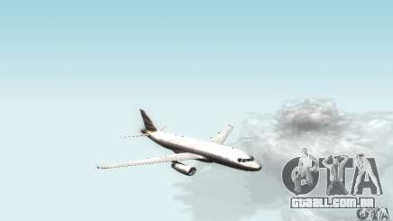 Airbus A319 British Airways Olympic Dove para GTA San Andreas