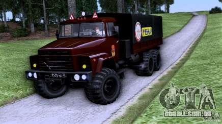Escola de condução do caminhão para GTA San Andreas