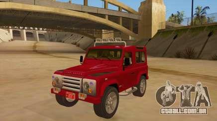 Land Rover Defender para GTA San Andreas