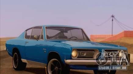 Plymouth Barracuda 1968 para GTA San Andreas