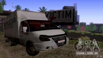 GAZ 3302 negócios para GTA San Andreas