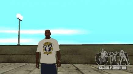 T-shirt WWE John Cena para GTA San Andreas