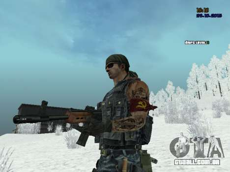 Commando para GTA San Andreas terceira tela