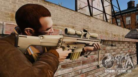 Mk17 SCAR-H para GTA 4 segundo screenshot