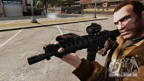 Tático M4 v1 para GTA 4 por diante tela