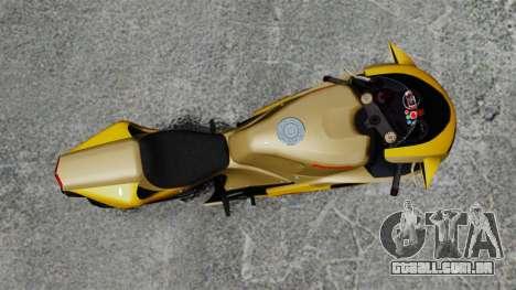 Ducati 848 para GTA 4 traseira esquerda vista