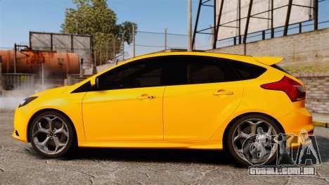 Ford Focus ST 2013 para GTA 4 esquerda vista